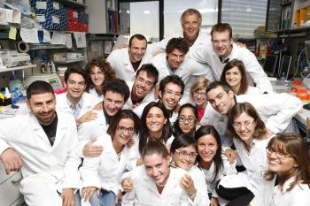 Istituto Tiget Prof. Luigi Naldini con il suo gruppo